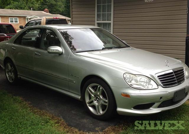 2005 mercedes benz s55 amg salvage title state of for Mercedes benz s55