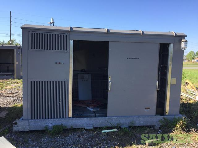 Powerwave Technologies Versa Flex 007 Telecommunicaation Equipment Shelter