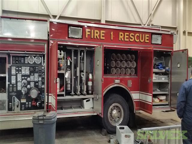 Pierce Fire Truck/ Rescue Pumper, 1999