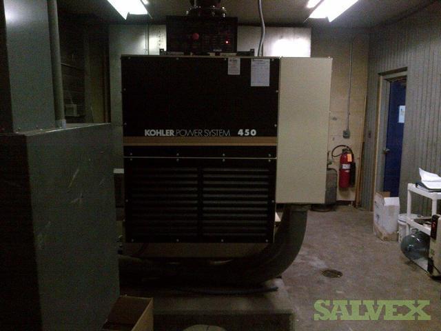 Kohler Power System 450 Diesel Generator Salvex