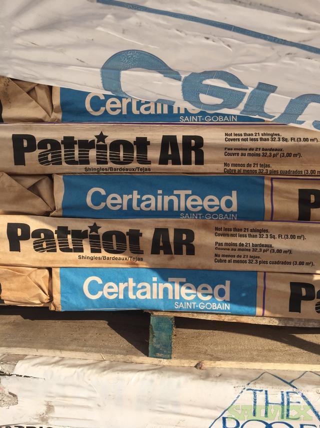 Certainteed Patriot Shingles A Grade With Warranty Salvex