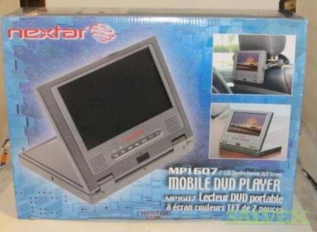 Nextar MP1607 7 Widescreen Portable DVD Player