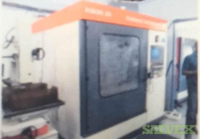 Milling Equipment: Charmilles Robofil Wire Cutting Machines, Cyclone Sandblaster, Japax High Speed Wire EDM, Norton Grinder