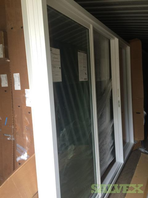 Triple Panel Patio Sliding Doors 108 X 80 Salvex