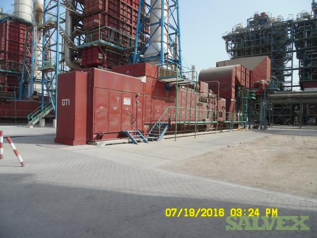 GE/Nouvo Pignone Gas Turbines MS 5001 P - 24,600 kw (2 Units