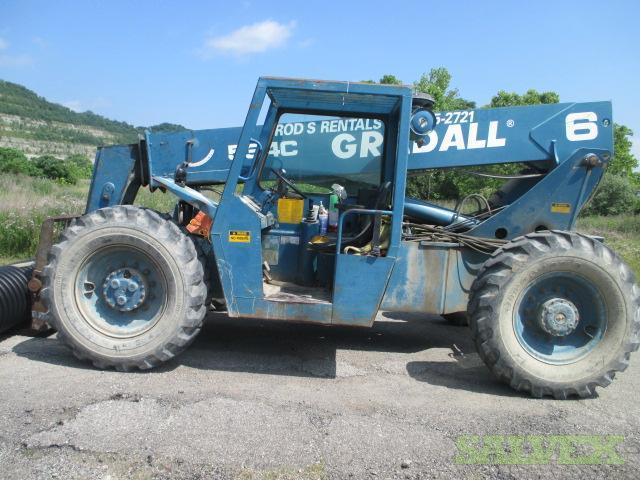 Gradall 534c 6 Forklift Salvex