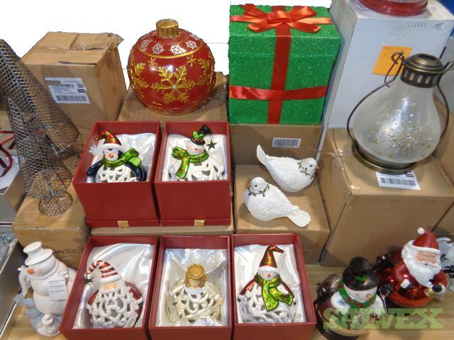 Christmas Decorations From Qvc 1 Truckload 28 Pallets Salvex