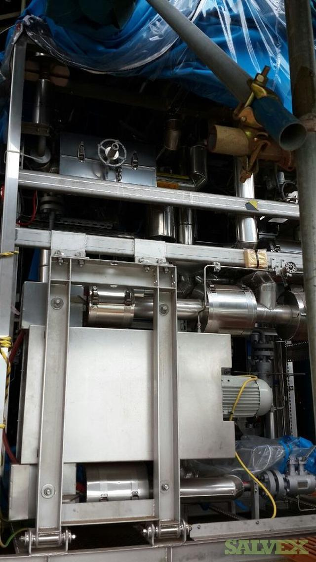 GE Oil & Gas HP Gas Compressor - gas export (73 Ton per Hour Capacity)