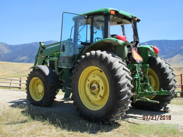 John Deere 740 Tractor : John deere tractor with loader salvex