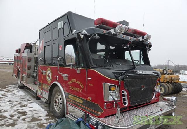 2010 Rosenbauer Pumper Truck