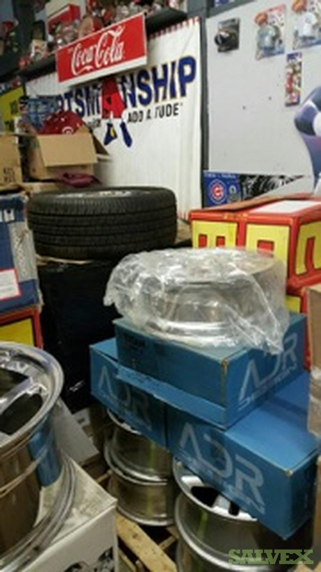 Tire Store Liquidation - Wheels - Auto Accessories - Remote Start - Alarms