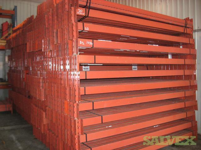 Racking Beam (box beam), Ready Rack Style, 108 x 4 x 1-1/2