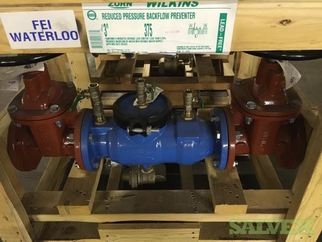 4, 6 Pressure Valves, Assembly, Backflow Preventers (16 Units)