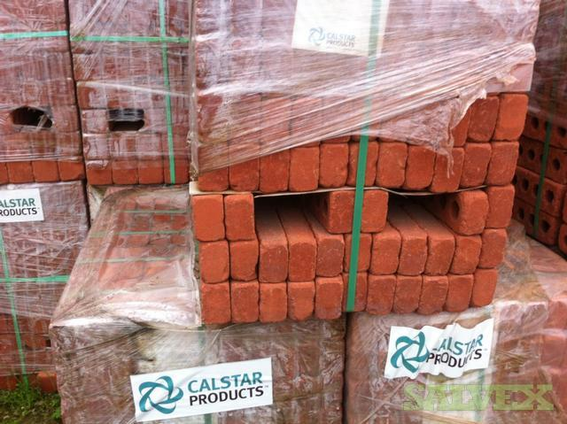 Brickstone Calstar Products Red Utility Size Bricks (47,250 Bricks / 20 Truckloads)