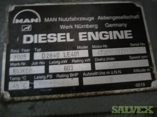 Man D2840 Le401 Marine Engine Salvex