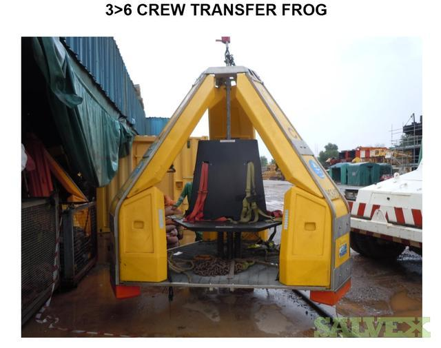 Crew Transfer Frogs - for 3 & 6 Persons (7 Units)