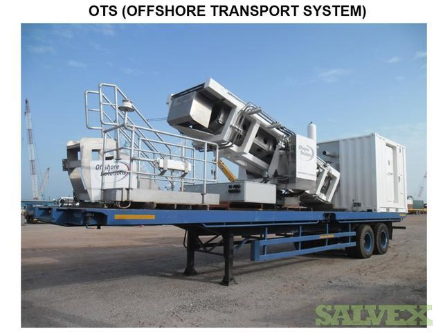 Aluminum Walkway Offshore Transport System OTS
