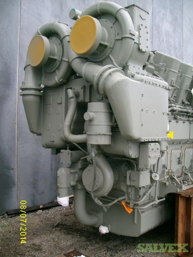 GE 7HDL V16 Locomotive Engine, Unused