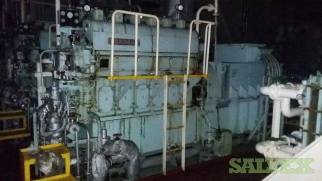Yanmar Engines and Spares for Daihatsu and Yanmar (12 Engines) | Salvex