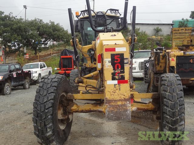 Caterpillar 140M Motor Grader, B9D01661, 2009