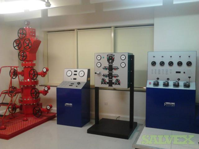 AE Drillsim-500 Drilling Systems Simulator (4 Units)