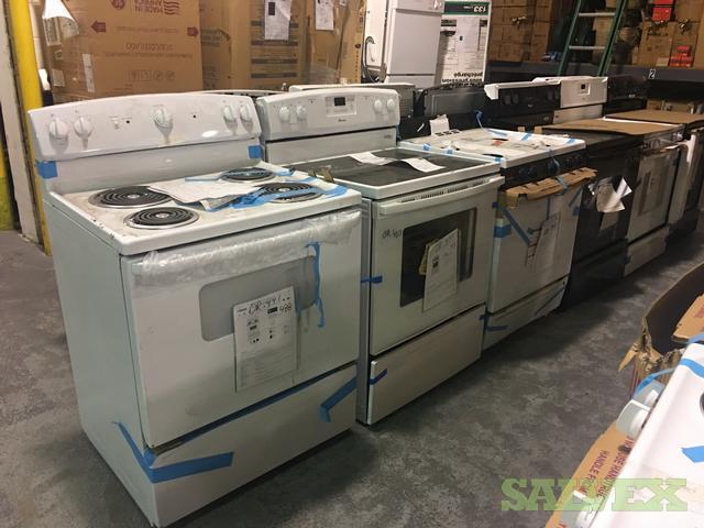 Appliance Truckload: Hotpoint, Whirlpool, GE, Rheem, ETC (S&D Grade)