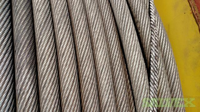Hylift K16 Subsea Wire Rope - 34mm Grade 2160 (60,000 Lbs / 10,000 ...