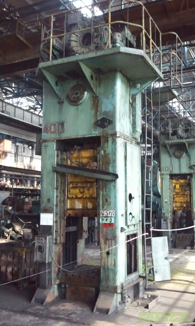 Voronezh Mechanical Press - for Metalworking (400 Tons)