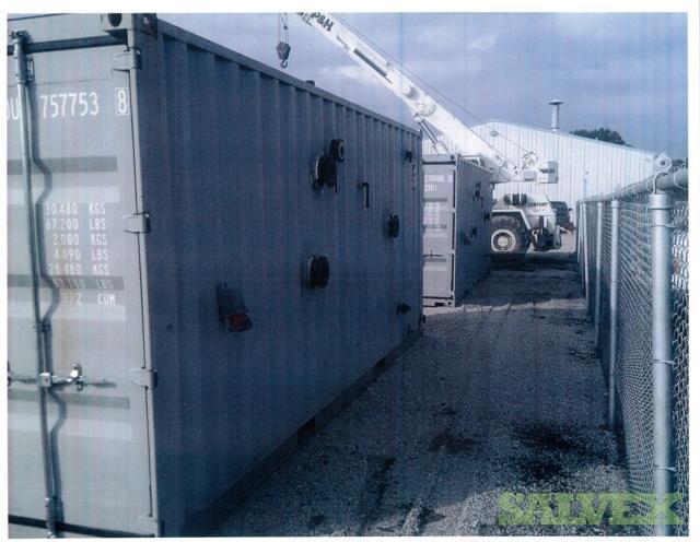 B&G Temporary Heating Hot Water Skid Units (2 Units)