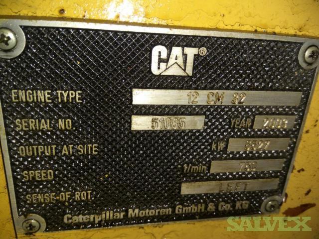 Caterpillar 12CM32 Generator Set (Requires Repair)