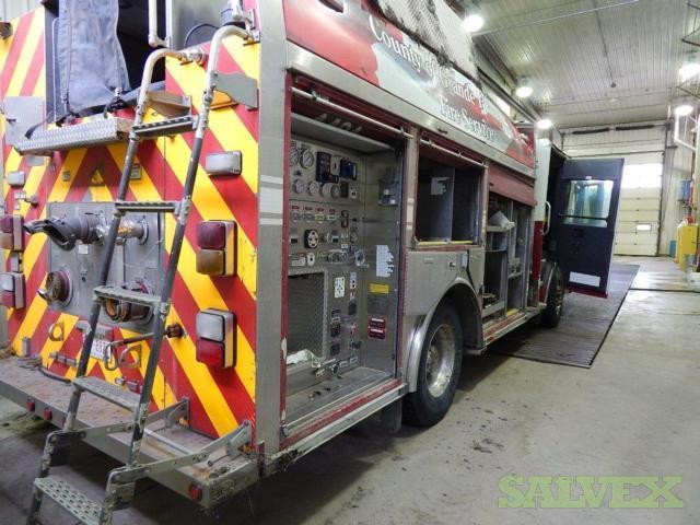 2009 Smeal 1500 Pumper Firetruck