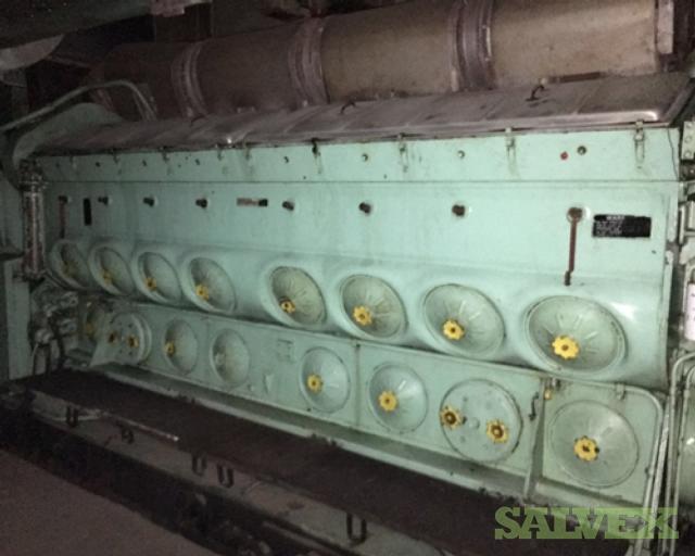GM EMD 16-645-E9 Complete Engines (2 Units)