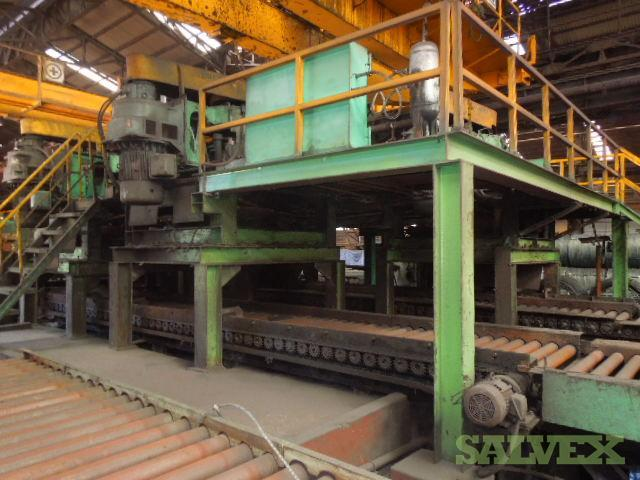 Secondhand Wire Rod Mill (25 Ton per Hour Capacity)