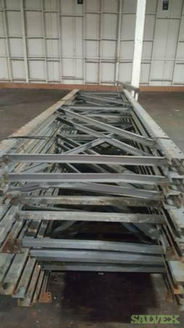 Pallet Racking (12' Uprights and 8', 12' Rails/Cross Bars) (15 Tons)