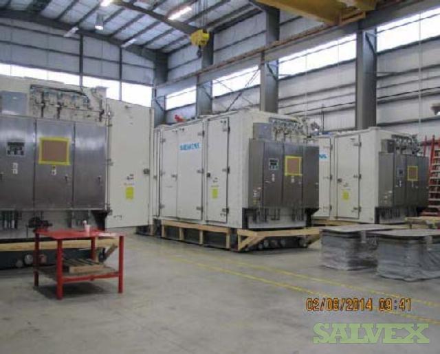 Siemens SGT-400 60HZ Gas Turbines and Dual Fuel Driven Generators (3 Units)