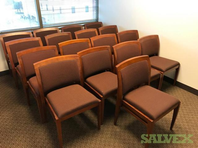 Assorted Office Chairs & Furniture