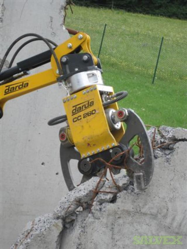 Darda Betonzangen Concrete Crusher Range