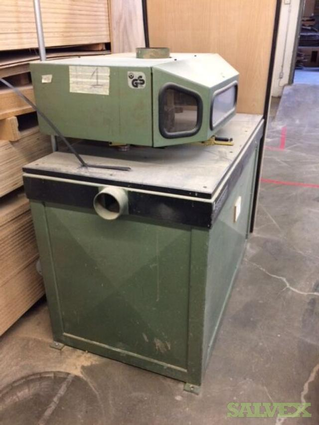 Stegger B0F Arch Shaper 1987 (for Woodworking)