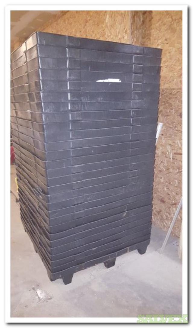 Thermoformed Plastic Pallets (620 units/ 1 Truckload)
