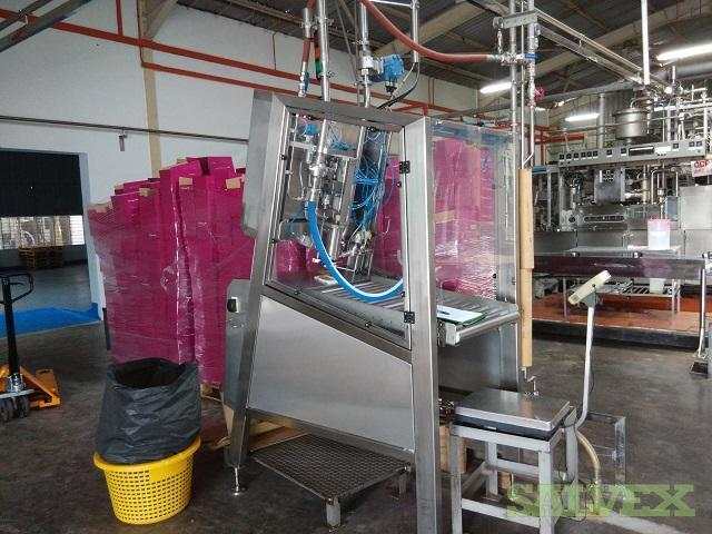 Rapak Intasept 2400 Single Head Semi Automatic Aseptic Liquid Filler