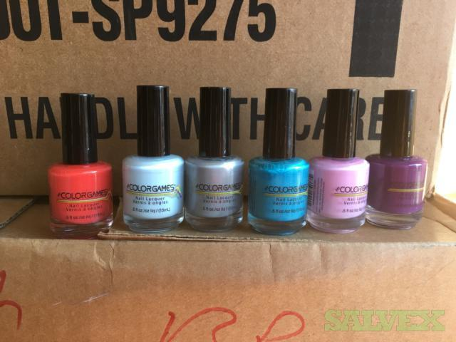 Nail Polish - Assorted Colors - 90,000 Bottles