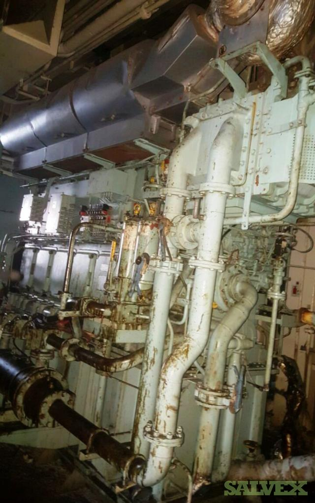 Daihatsu 6DK-28 Marine Generators 2002, 1900 KVA (2 Units)