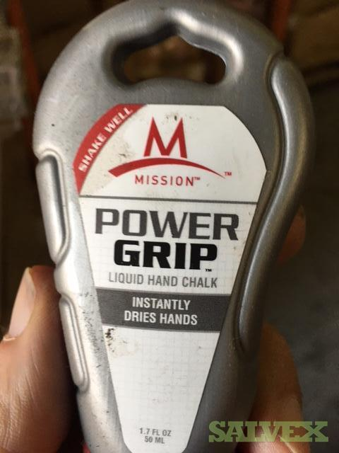 Liquid Hand Chalk By Mission - For Athletic Grip - 15,000 Bottles