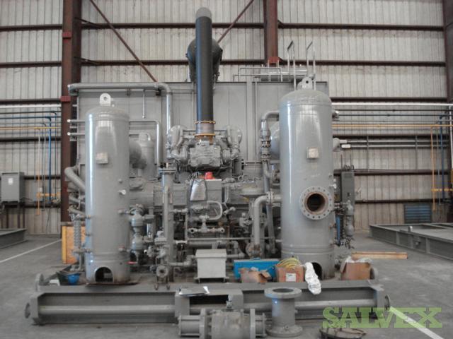 Caterpillar G3516b Le Natural Gas Compressor Salvex
