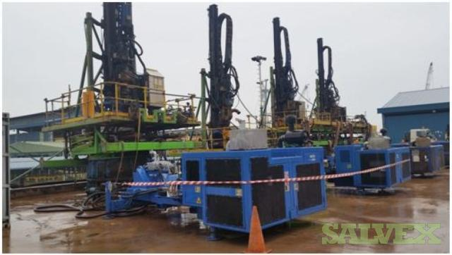 Hutte HBR 205GT Pile Top Drills with Power Packs (4 Sets)