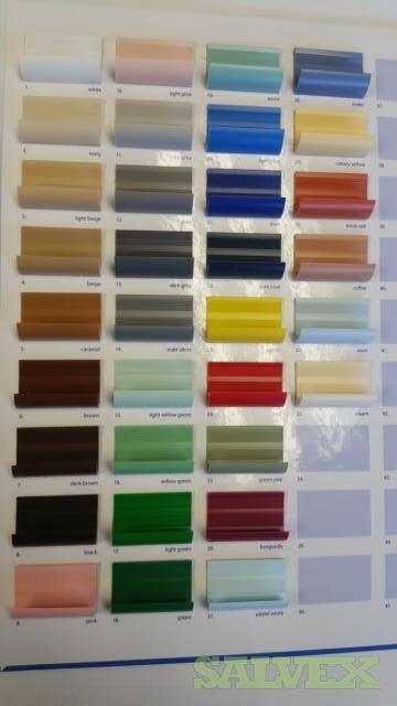 PVC Finishing Trim Interior and Exterior Profiles and Tile Moulding (100,358 Pieces)