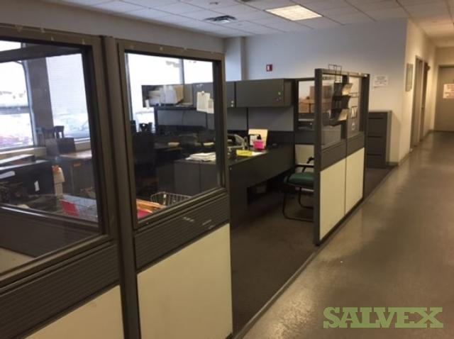 Monitors, Desk, Tables, Chairs, File Cabinets etc. (174 Units)