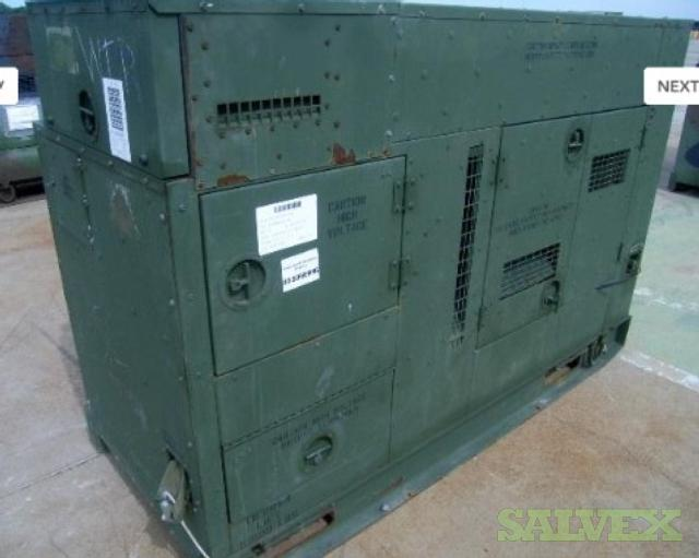 Military Diesel Fueled Generator Set, Tactical Quiet Mode I 50/60HZ Size 60 (60 KW)