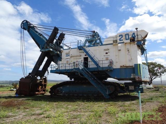 P Amp H 4100a Electric Mining Shovel Sn E55 Salvex