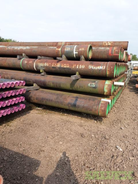 16 96# P110 TSH 523 R3 Surplus Casing (2,169 Feet)